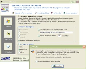XPStyle - auch unter Win9x/NT/2000!